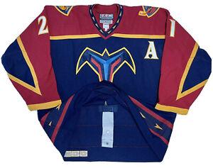 Atlanta Thrashers CCM Center Ice Authentic 56 Ferraro Hockey Jersey