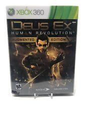 Deus Ex: Human Revolution -- Augmented Edition (Microsoft Xbox 360) Complete