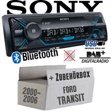 SONY AUTORADIO pour Ford Transit DAB +/Bluetooth/mp3/usb installation Accessoires Kit de montage