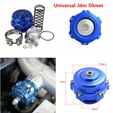 JDM 50MM ALUMINUM TURBO INTERCOOLER BOV VBAND BLOW OFF VALVE FLANGE 35 PSI BOOST