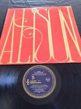 APLP 010 ALISON MacCALLUM LP RECORD  - EXCUSE ME - RARE BLUE ALBERT PRODUCTIONS
