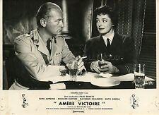 CURD JÜRGENS  RUTH ROMAN BITTER VICTORY  1957 VINTAGE PHOTO ORIGINAL