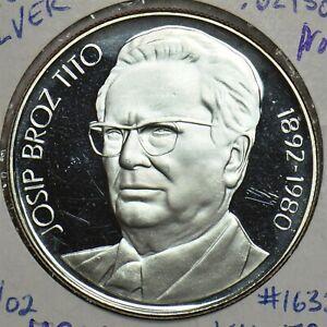 Yugoslavia 1980 1000 Dinara Proof Silver 491358 combine shipping