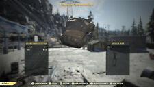 Fallout 76 Responder Feuerwehrmann Firemen Uniform RAR PS4