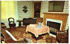 POSTCARD ANDREW JOHNSON HOMESTEAD PARLOR GREENEVILLE TENNESSEE