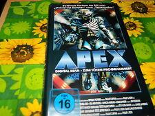 APEX - Digital Man - Zum töten programmiert - SciFi Kracher - VHS Erstauflage