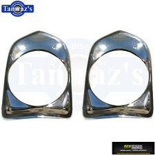 66 Nova HeadLight HeadLamp Head light lamp Bezel Trim Door LH = RH  OER  PAIR