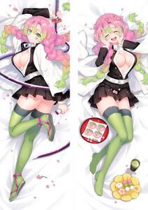 New Anime Demon Slayer: Kimetsu no Yaiba Kanroji Mitsuri Body Pillow Case Cover