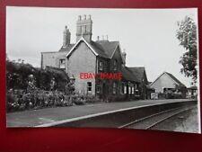 PHOTO  STUDLEY & ASTWOOD BANK RAILWAY STATION 1951