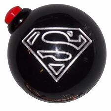 Black Superman Push Button Side Mount shift knob12x1.5 thd U.S MADE