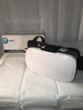 ONN Virtual Reality Smartphone Headset iPhone Andriod Universally compatible cel