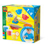 SES CREATIVE Children's My First Play Dough with Clay Tools Set, 3 Pots (90g)