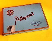 "Vintage Players Navy Cut "" Mild "" Flat 50 Cigarette Tin"