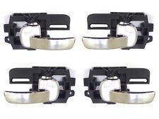 Front Rear Left Right inner door handles Kit of 4 fits NISSAN QASHQAI 2007-2013