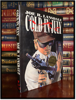Cold In July ✎SIGNED✎ by JOE LANSDALE New 1st Hardback Edition First Printing