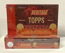 (2) 2006 Heritage Football Hobby Box Young Bush RC Auto