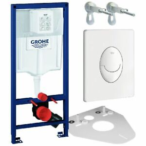Grohe Rapid SL 38528001 WC-Element 113cm inkl. Winkel u. Skate Air Weiß