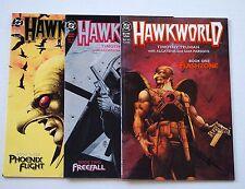Hawkworld #1-3 Full Set 9.4 Nm (1989) Hawkman, Hawk Girl, Legends Of Tomorrow!