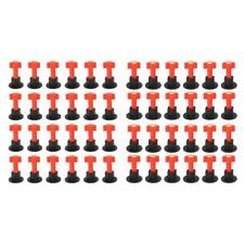 75x Flat Ceramic Floor Wall Construction Tools Reusable Tile Leveling System Kit