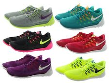 Nike 642199 Womens Free 5.0 Lightweight Rounded Heel Running Shoes Sneakers