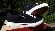 NIKE Vintage Dead Stock Women's CTS Canvas LITE Size 10 Black/White Shoes Retro