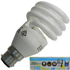 Luminus Energy Saving Light Bulbs 24 W x 6 Bulbs B22 Warm White Long Life