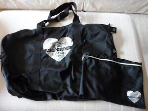 DIVINE WOMENS VICTORIA'S SECRET LONDON FASHION SHOW 2014 LARGE BLACK  TOTE BAG