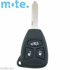 Jeep Grand Cherokee KK Model 2008 - 2012 3 Button Key Remote Case/Shell/Blank