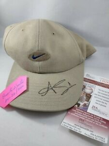 Adam Scott Signed Nike Hat & PSA Certif