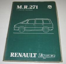 Werkstatthandbuch Renault Espace I J 11 Mechanik Motor Getriebe Stand Juli 1984!