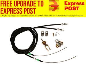 Wilwood Universal Hand Brake/Park Brake Cable Kit Suit Wilwood Forged Dynalite &