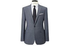 Richard James Mayfair Slate Blue Tonic Slim Fit Suit Jacket UK Size 40L RRP £250