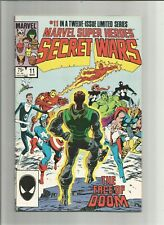 SECRET WARS #11   Higher Grade Very Fine to Near Mint  Free Shipping  BUY IT NOW