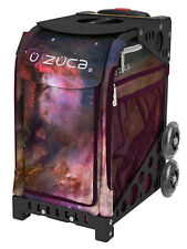 Zuca Bag Galaxy Insert & Black Frame w/Non-Flashing Wheels - Free Seat Cushion