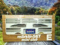 Märklin mini-club 8191 - Spur Z - Ergängzungs-Set mit 2 elektr. Weichen - #A192