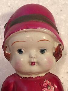 "Vintage Japan 5"" Celluloid Kewpie Doll Flapper"