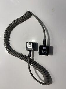 Genuine Nikon SC-17 TTL Flash Extension Cord in Excellent Condition