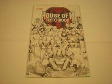 House Of M Sketchbook #1 (2005) Marvel Comics Avengers X-Men Promo Fcbd Vf/Nm