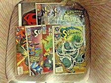 DEATH OF SUPERMAN (DOOMSDAY), All 7 Parts (1ST PRINTS), (1993), DC Comics