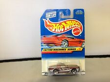 HOTWHEELS NOS TATTOO MACHINES SERIES STUTZ BLACKHAWK W/ MATTEL WHEELS 18769-0910
