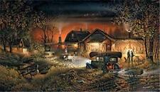 Morning Warmup By Terry Redlin Signed and Numbered Print