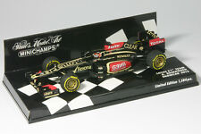 Lotus Renault e21 Räikkönen Formule 1 saison 2013 1:43 Minichamps 410130077