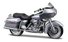 Harley-Davidson 2002 Fltr Road Glide Argent Moto Modèle 1:18 Miniature Agricole