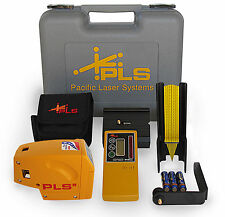 Brand New Pacific Laser Systems PLS 5 System w/ HVD 500 Detector #60542 Case