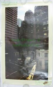 NITF Vintage Urban Runner ICONIC NIKE Running Poster Seattle John Terence Turner