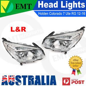 Set Pair LH+RH Head Light Lamp Projector LTZ For Holden Colorado 7 Ute RG 12~16