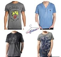 Diesel Brand New Mens' Pure 100% Cotton T-Shirt. Short Sleeve. Size: S, M, L,XL