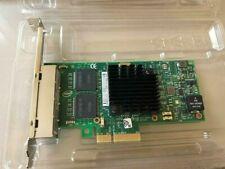 Intel I350-T4V2 4 port Gigabit Ethernet network Adapter PCIe v2 5.0 GT/s OEM