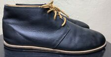 Reef Kudu Men's Black Distressed Vintage Leather Shoes Size 11