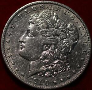 Uncirculated 1900-S San Francisco Mint Silver Morgan Dollar